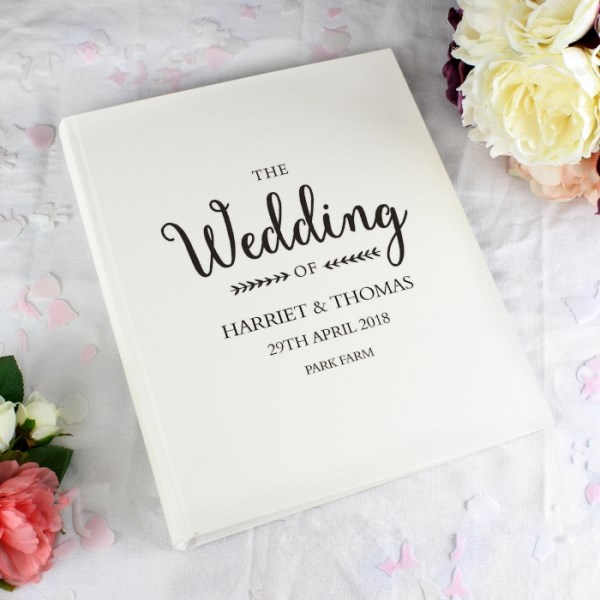 Rustic Wedding Traditional Album