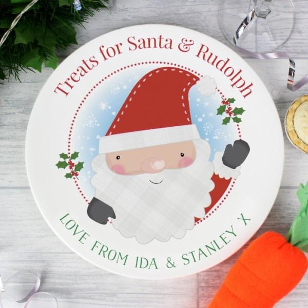 Santa Claus Mince Pie Plate