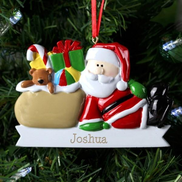 Santa Claus Resin Decoration