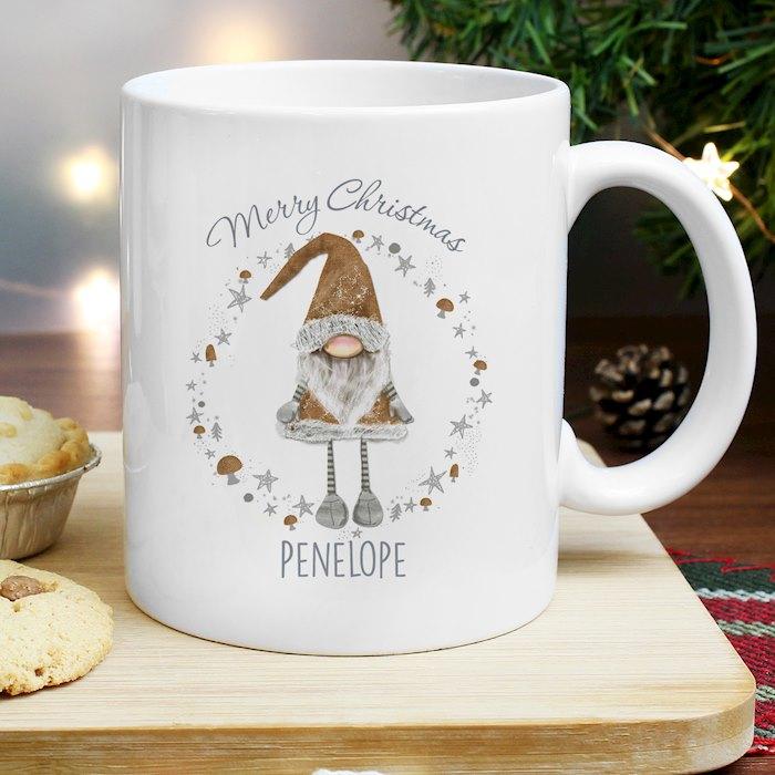 Scandinavian Christmas Gnome Mug