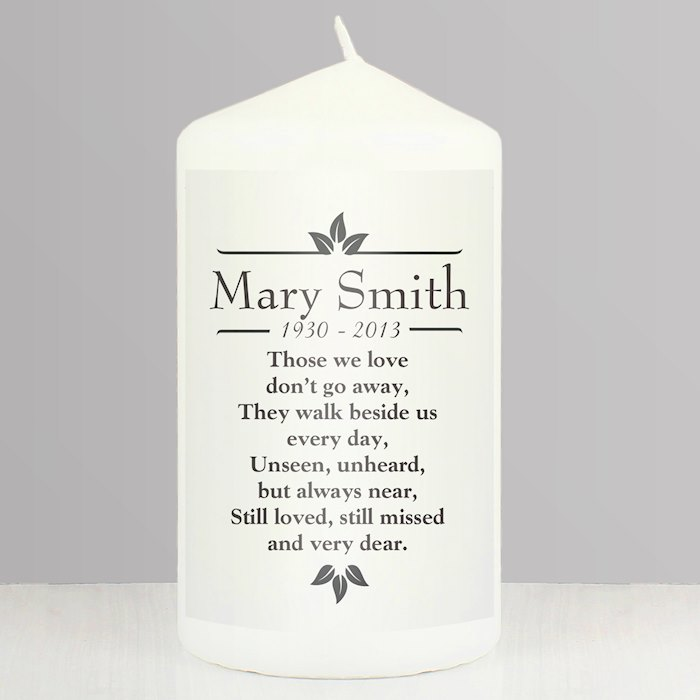 Sentiments 'Those We Love' Pillar Candle