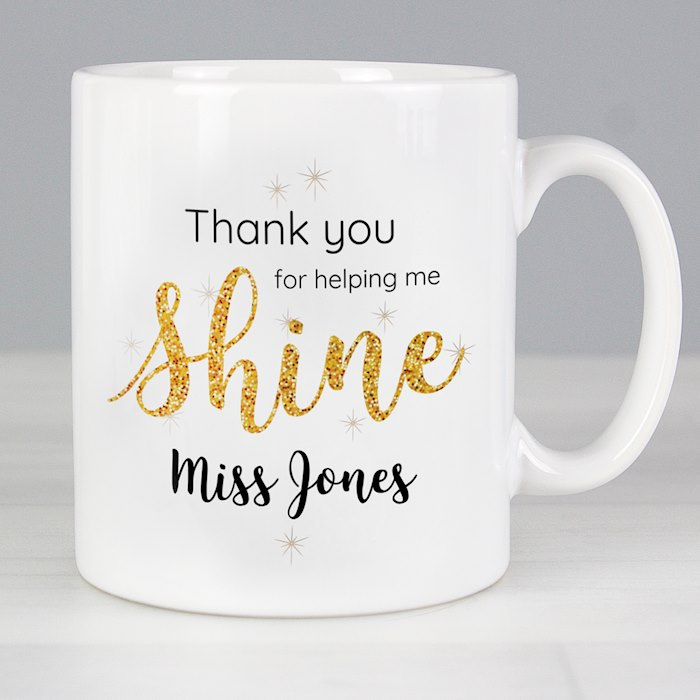 Shine Teacher Mug