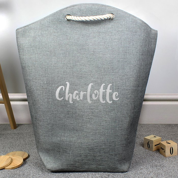 Silver Name Storage Bag