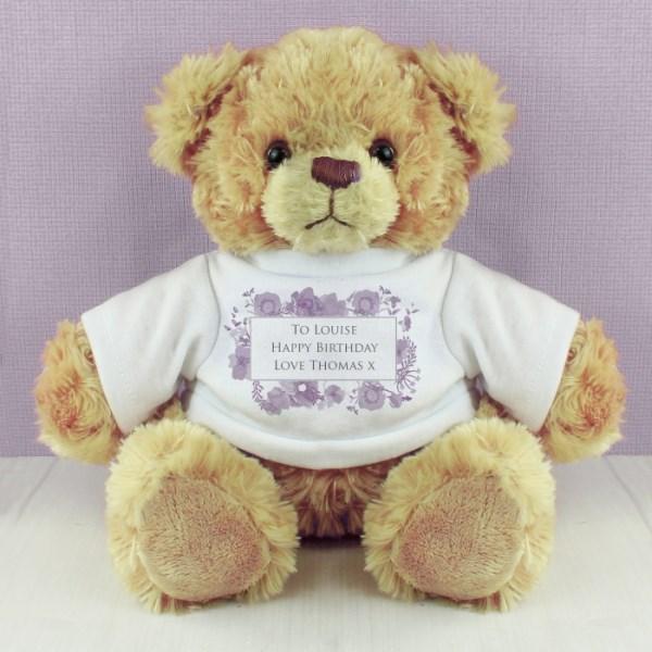 Soft Watercolour Teddy