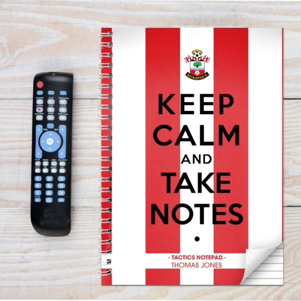 Southampton Keep Calm A4 Notebook