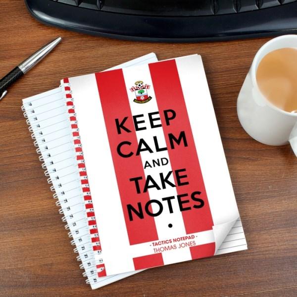 Southampton Keep Calm A5 Notebook