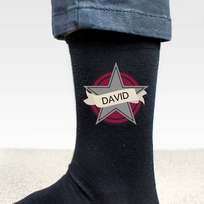 Star Men's Socks