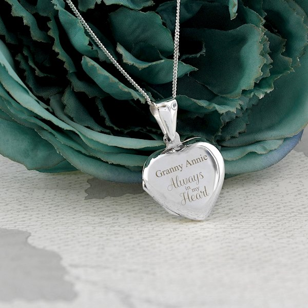 Sterling Silver 'Always' Heart Locket