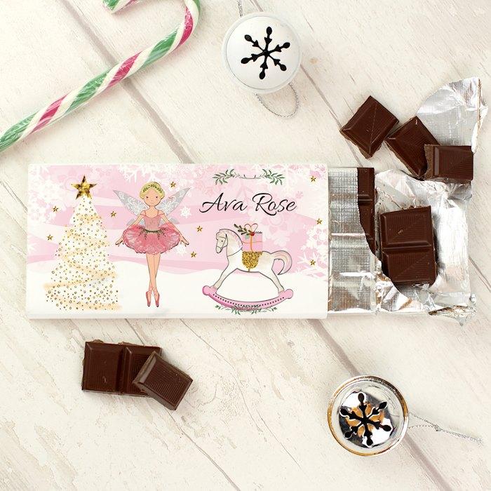 Sugar Plum Fairy Milk Chocolate Bar