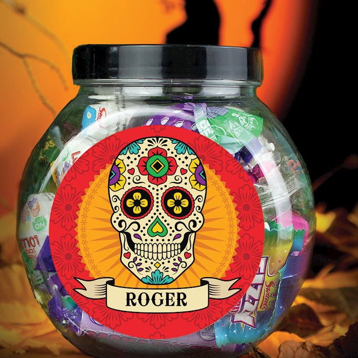 Sugar Skull Sweet Jar