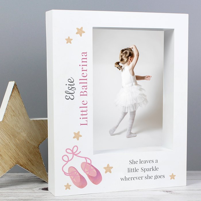 Swan Lake Ballet 5x7 Box Photo Frame