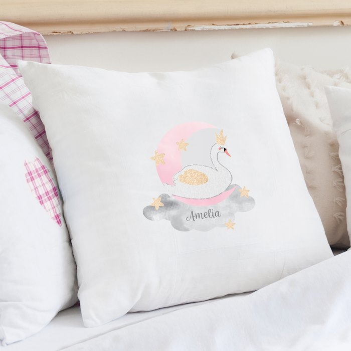 Swan Lake Cushion Cover