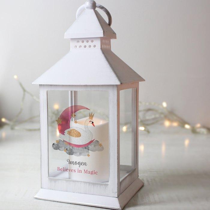 Swan Lake White Lantern
