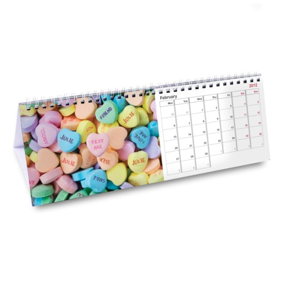 Personalised Sweet Tooth Desk Calendar