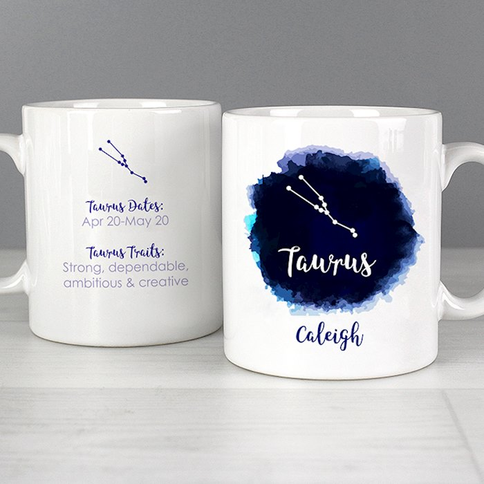Taurus Zodiac Star Sign Mug (April 20th - May 20th)