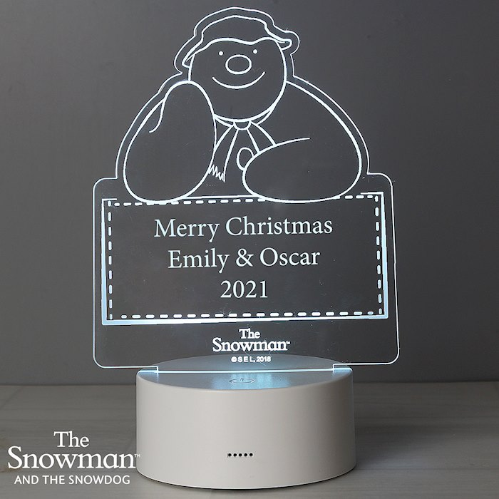 The Snowman LED Colour Changing Decoration & Night Light