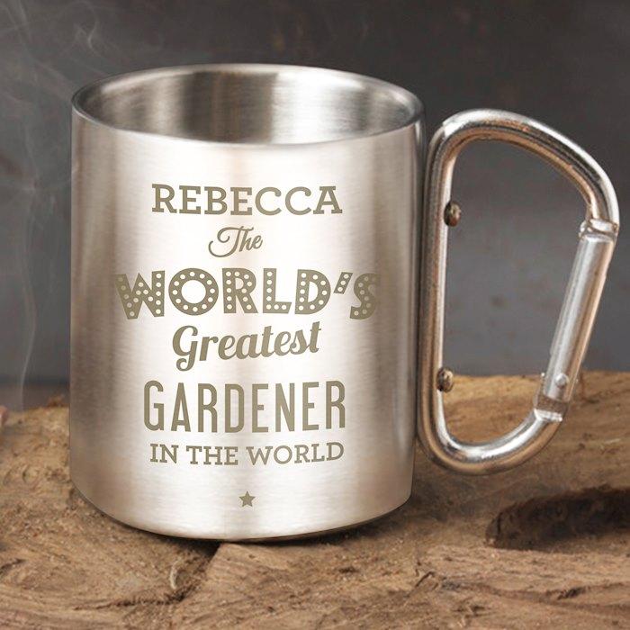 'The World's Greatest' Stainless Steel Mug