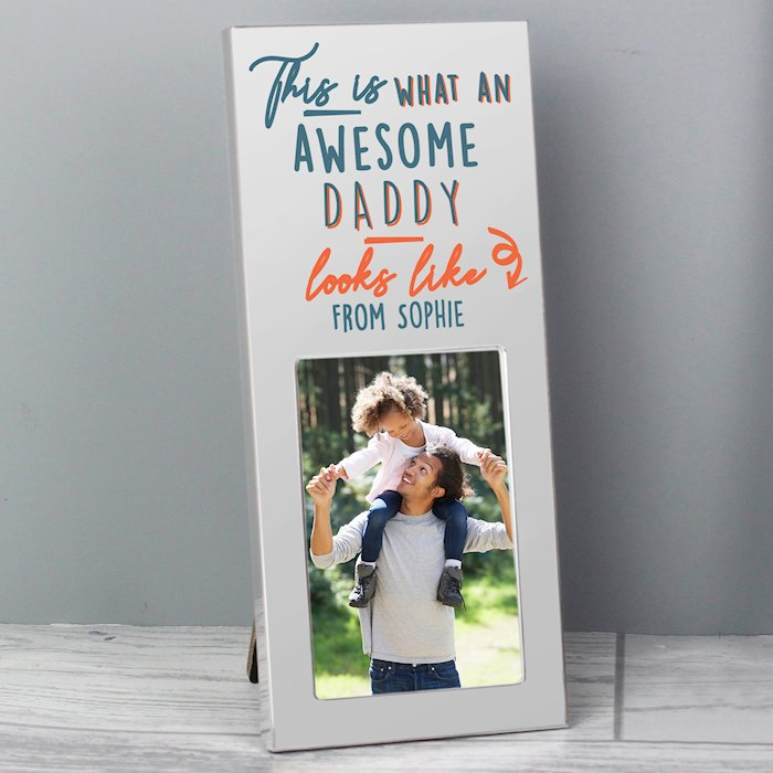 This Is What Awesome Looks Like Silver 2x3 Photo Frame