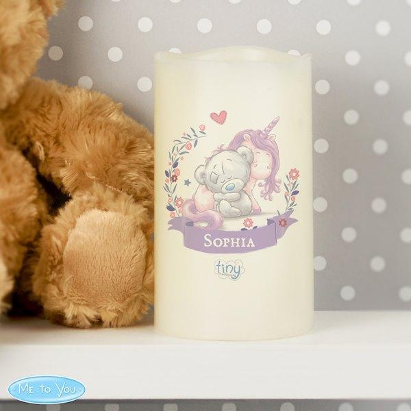Tiny Tatty Teddy Unicorn Nightlight LED Candle