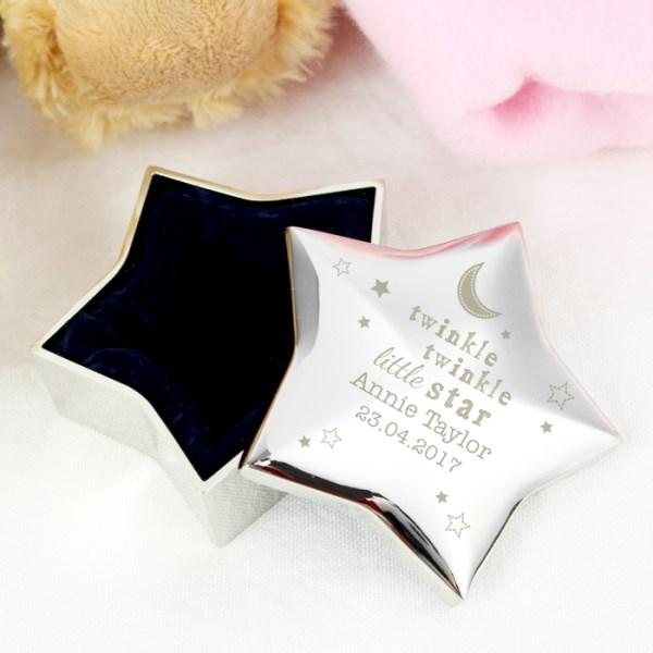 Twinkle Twinkle Star Trinket Box