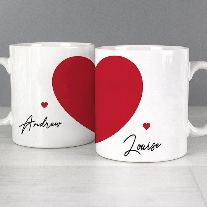 Two Hearts Mug Set