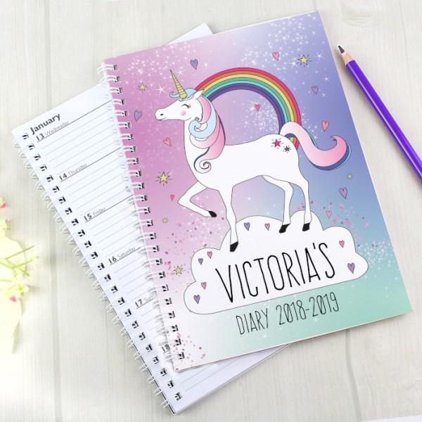 Unicorn A5 Diary