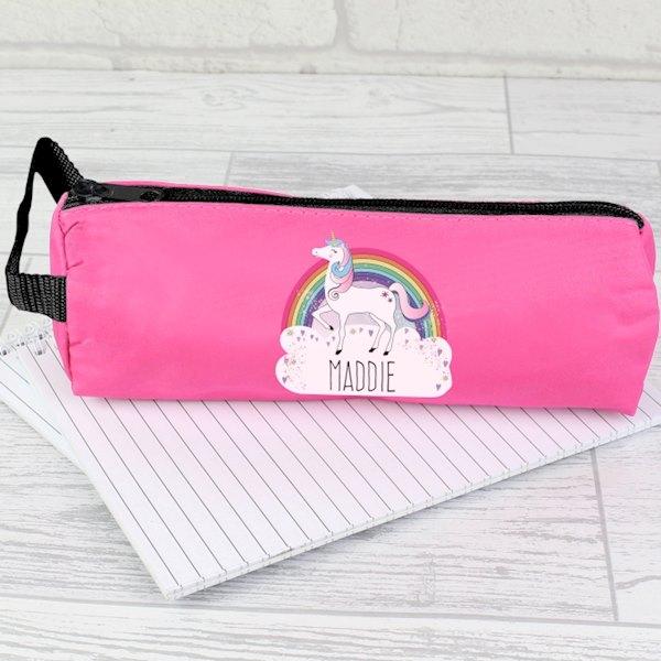 Unicorn Pink Pencil Case