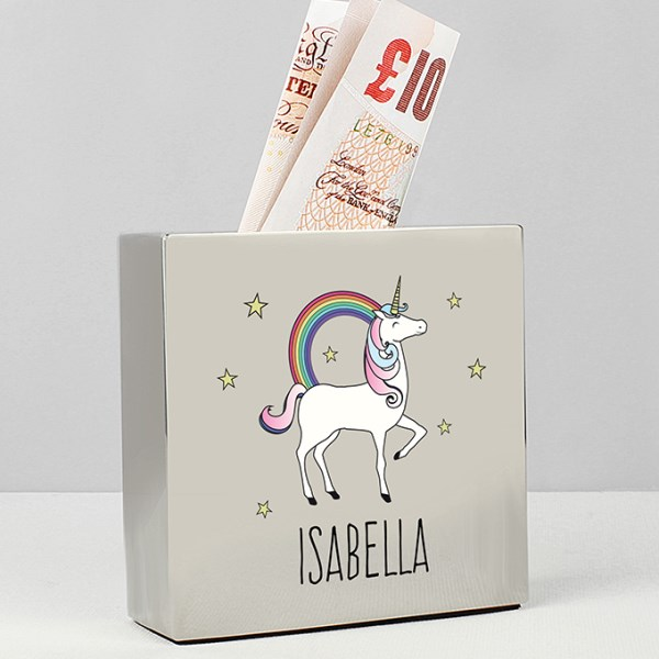 Unicorn Square Money Box
