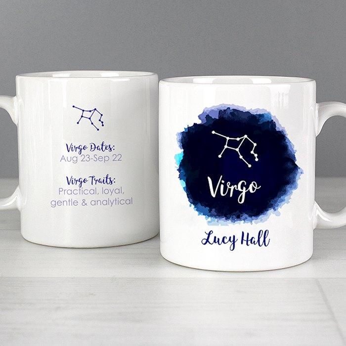 Virgo Zodiac Star Sign Mug (August 23rd - September 22nd)