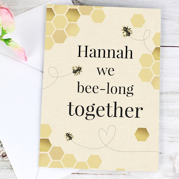 We Bee-Long Together Card