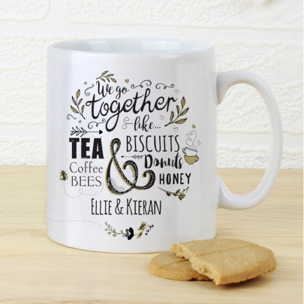 We Go Together Like... Mug