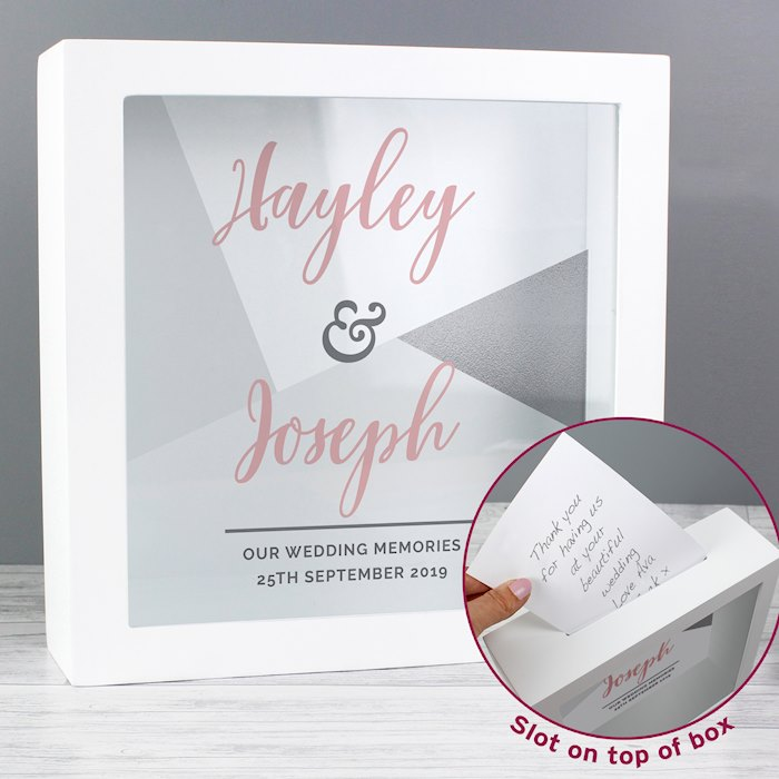 Wedding Occasion Fund And Keepsake Box