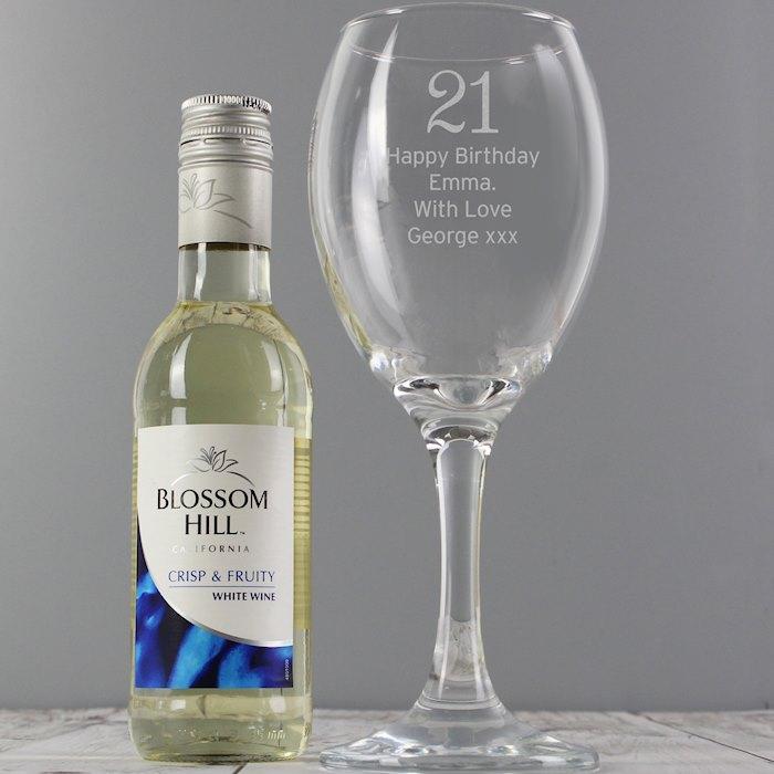 White Wine & Big Age Wine Glass Set