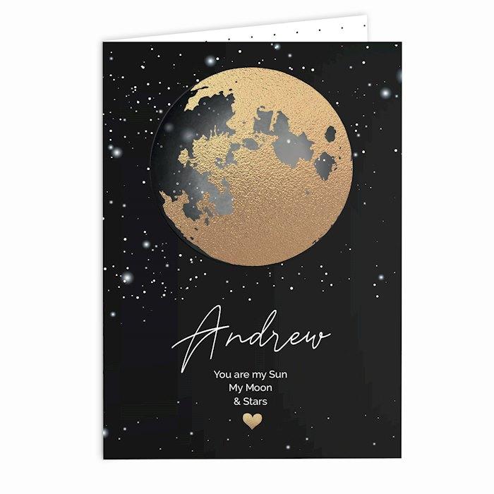 You Are My Sun My Moon Card