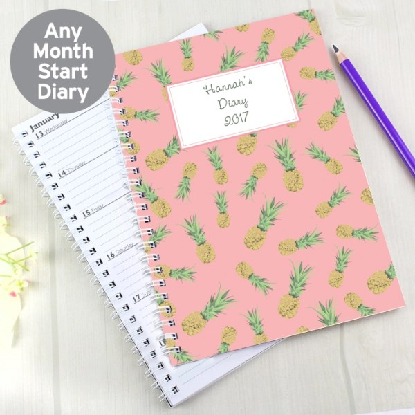 Pineapple A5 Diary