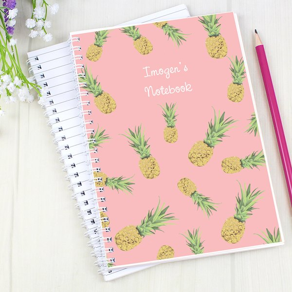 Pineapple A5 Notebook