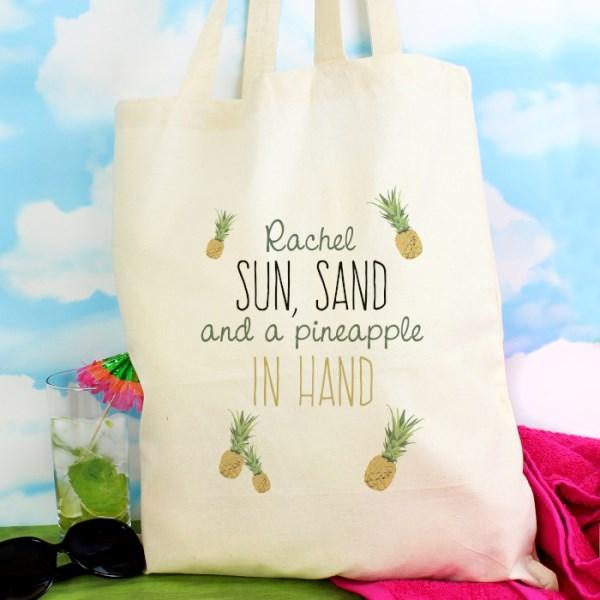Pineapple Cotton Bag