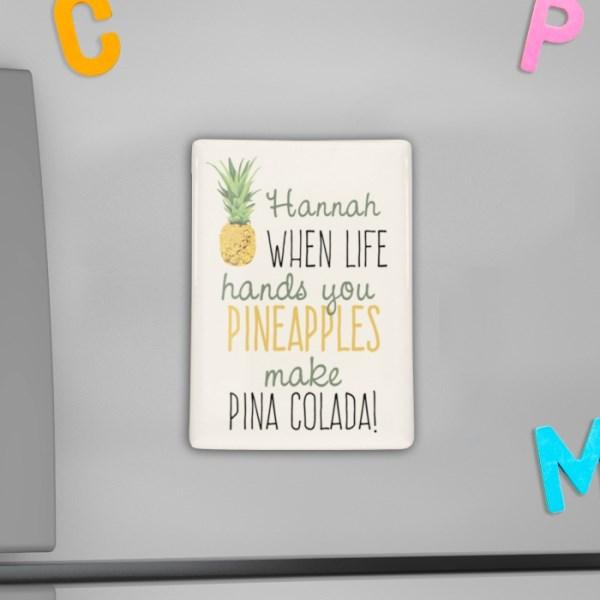 Pineapple Fridge Magnet