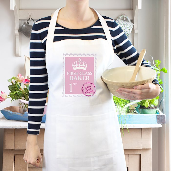 Pink 1st Class Apron