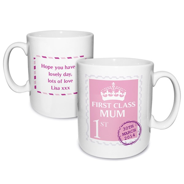 Pink 1st Class Mug