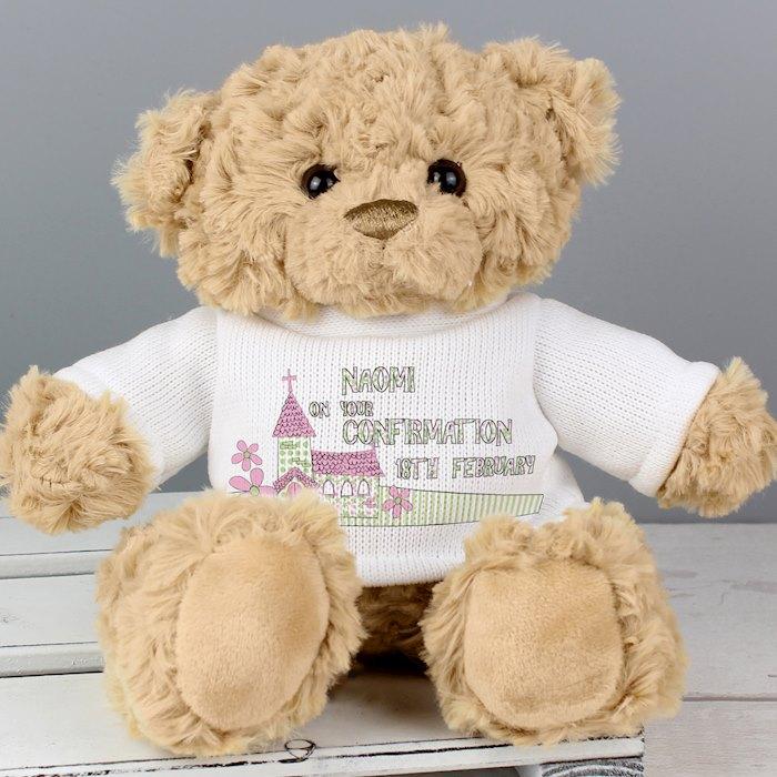 Pink Church Teddy