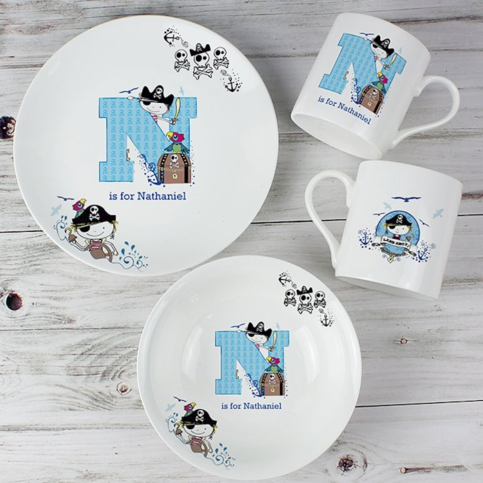 Pirate Letter Breakfast Set