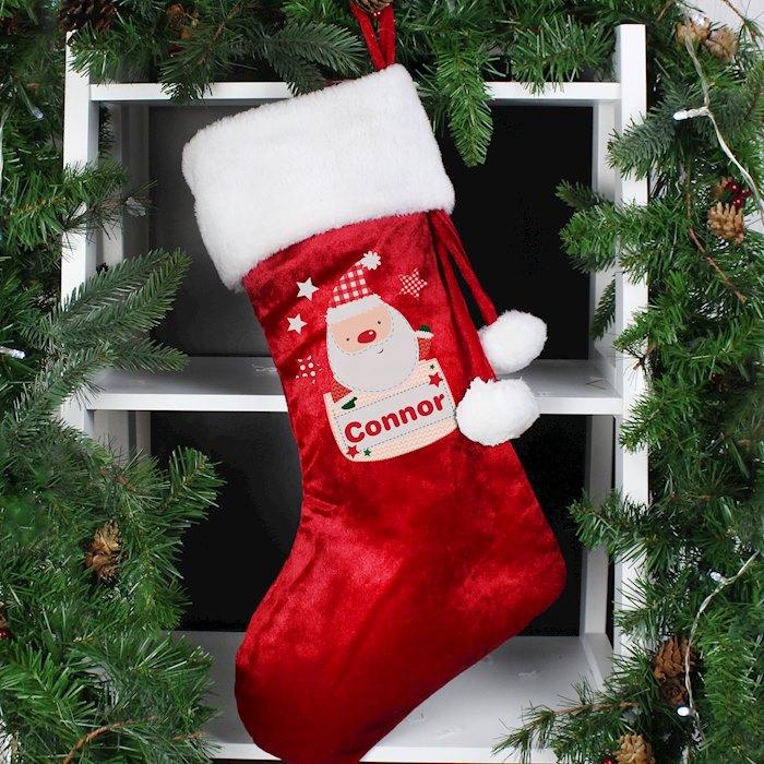 Pocket Santa Stocking