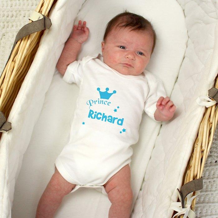 Prince Baby Vest