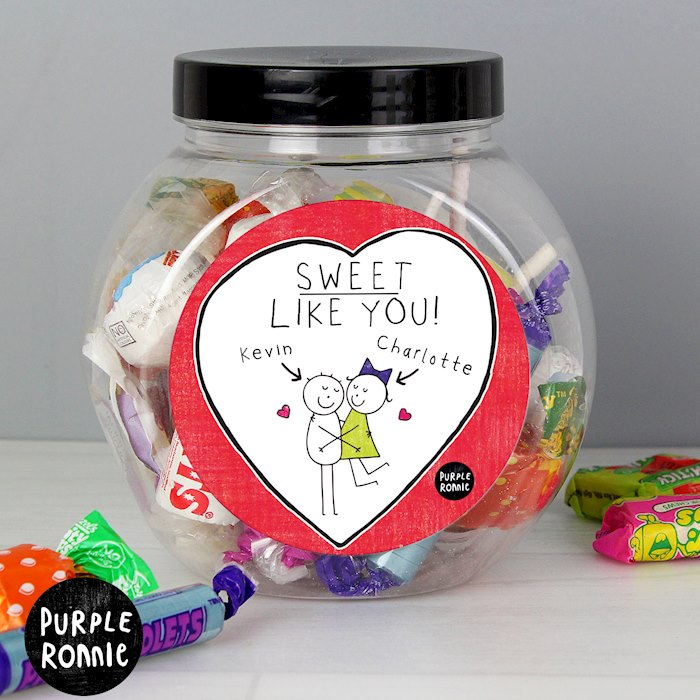 Purple Ronnie Couples Sweet Jar