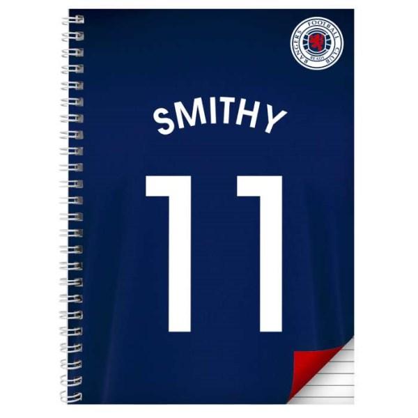 Rangers A5 Notebook