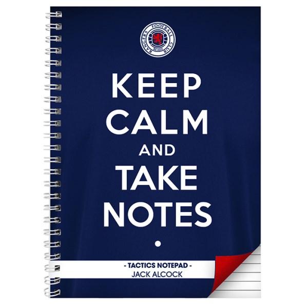 Rangers Keep Calm A5 Notebook