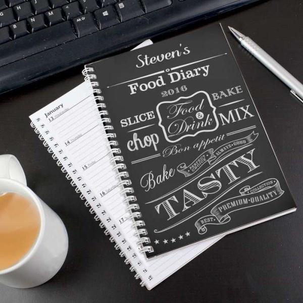 Recipes A5 Diary