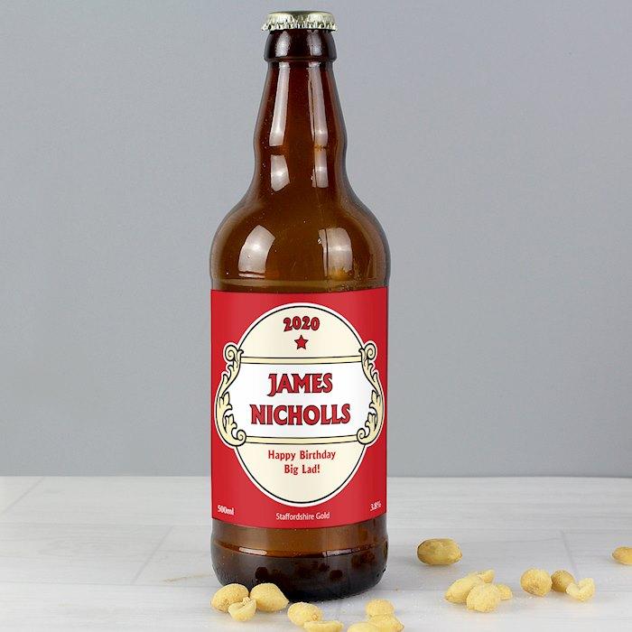 Red Crest Beer