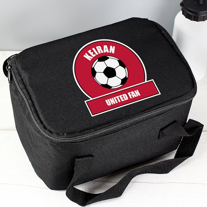 Red Football Fan Lunch Bag